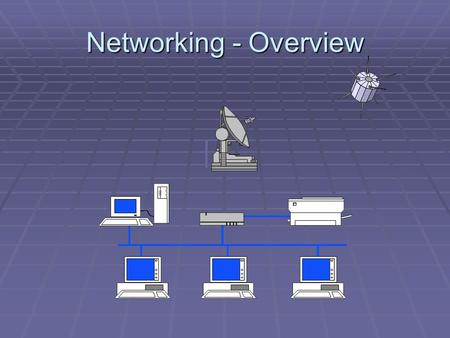 Networking - Overview. 통신 네트워크 네트워크 평가 Criteria  성능 : Performance  Throughput, delay, jitter, loss…  Factors including number of users, type of transmission.