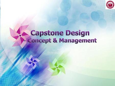 Capstone Design - Concept & Management