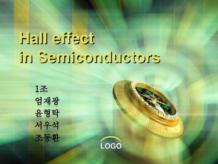 Hall effect in Semiconductors