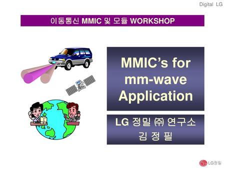 MMIC's for mm-wave Application