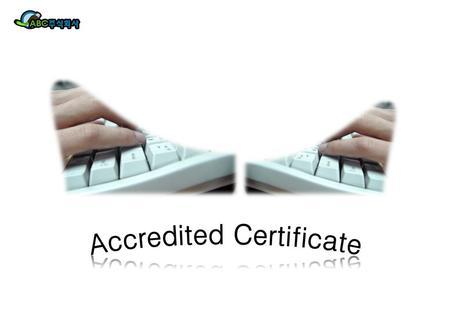Accredited Certificate