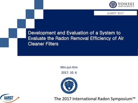 The 2017 International Radon Symposium™