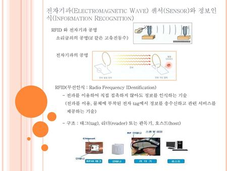 전자기파(Electromagnetic Wave) 센서(Sensor)와 정보인식(Information Recognition)