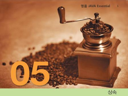 명품 JAVA Essential.