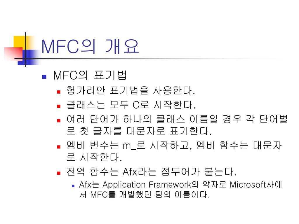 afx templates - mfc mfc mfc c