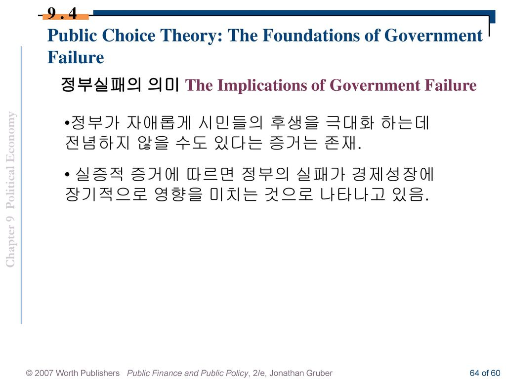 Essay on the Public Choice Theory | Public Administration