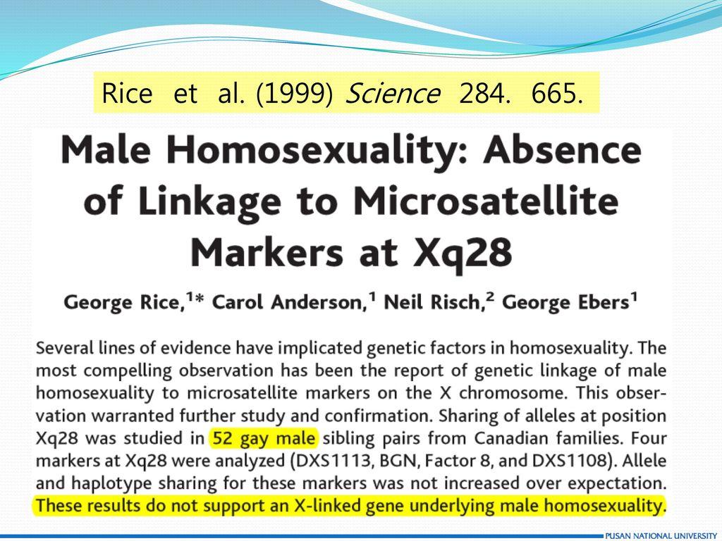Rice et al. (1999) Science 284. 665. Underlie : 기저(바닥이 되는 부분)를 이루다. 유발한다는 뜻임