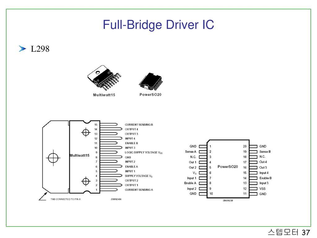 Full-Bridge Driver IC L298