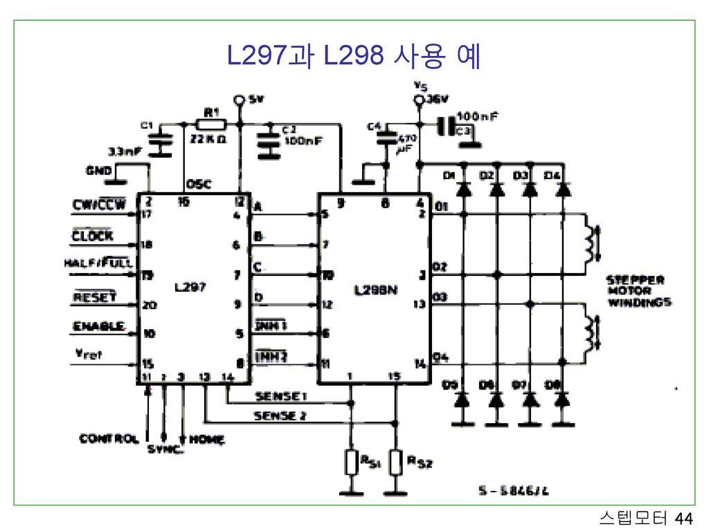 L297과 L298 사용 예