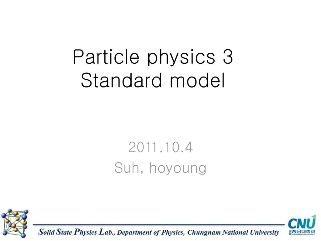 the history of particle physics School of physics & astronomy department of particle physics raymond & beverly sackler faculty of exact sciences tel aviv university.