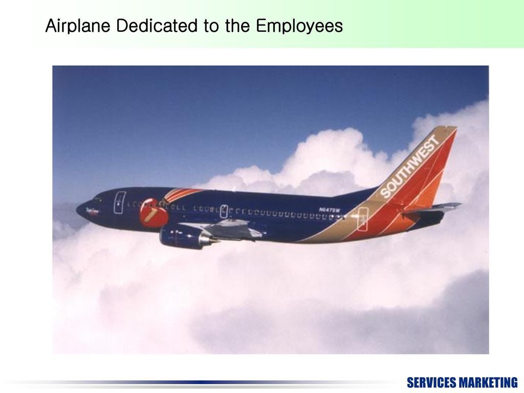 Airplane Dedicated to the Employees