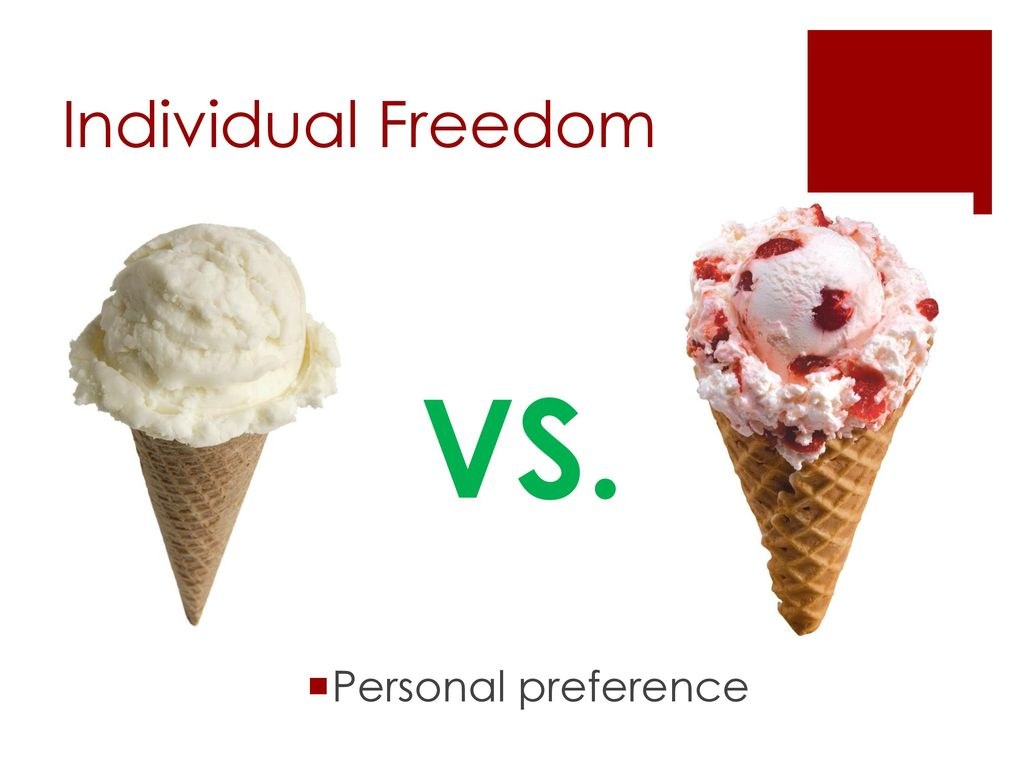 individual freedom vs the safety of It is more than preventing individual terrorist attacks, it is knowing what our enemies are doing at all times  it is american individualism and personal freedom .