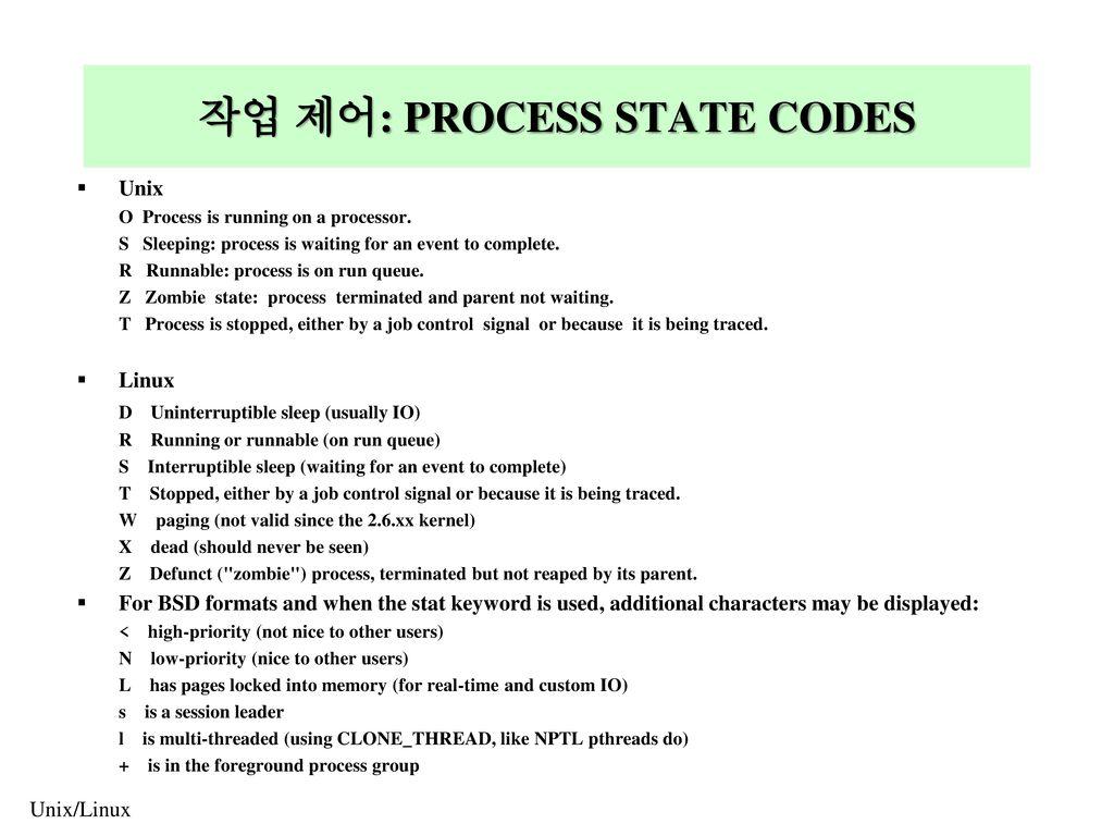 zombie process in unix pdf