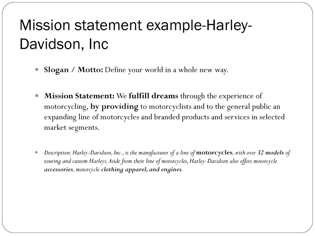an introduction to the motorcycle industry harley davidson inc The industry is dominated by one major player, harley-davidson inc, which holds an estimated 2018 market share of 383% harley-davidson inc commands the most market share in this industry because of its positive brand awareness, long history and dedicated followingin general, the industry's high market share concentration is reflective of .