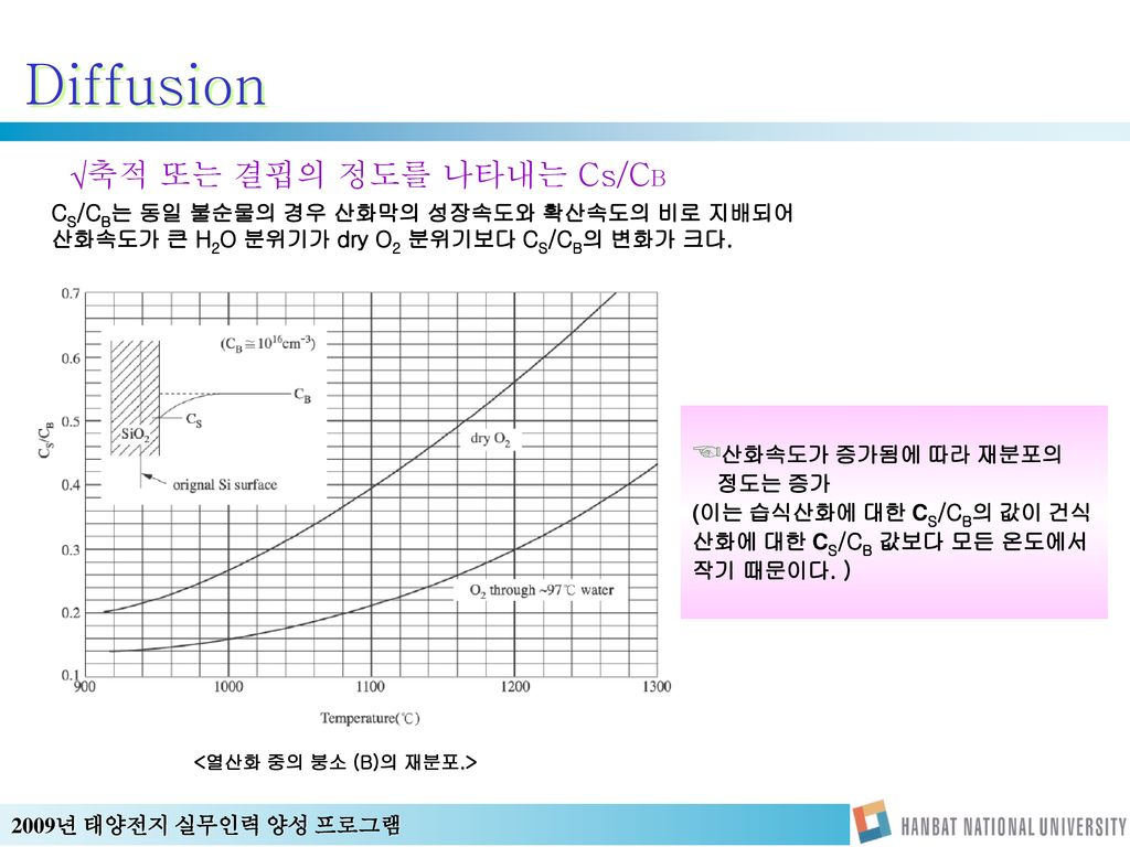 Diffusion 축적 또는 결핍의 정도를 나타내는 Cs/CB