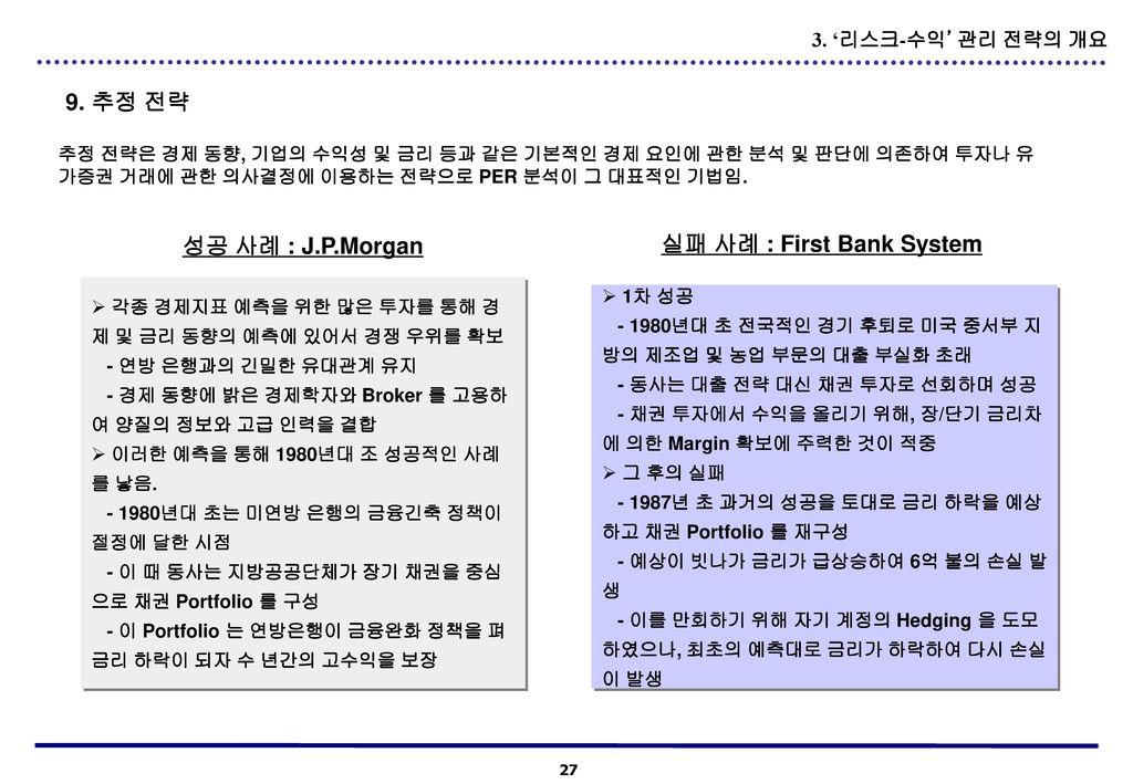 실패 사례 : First Bank System