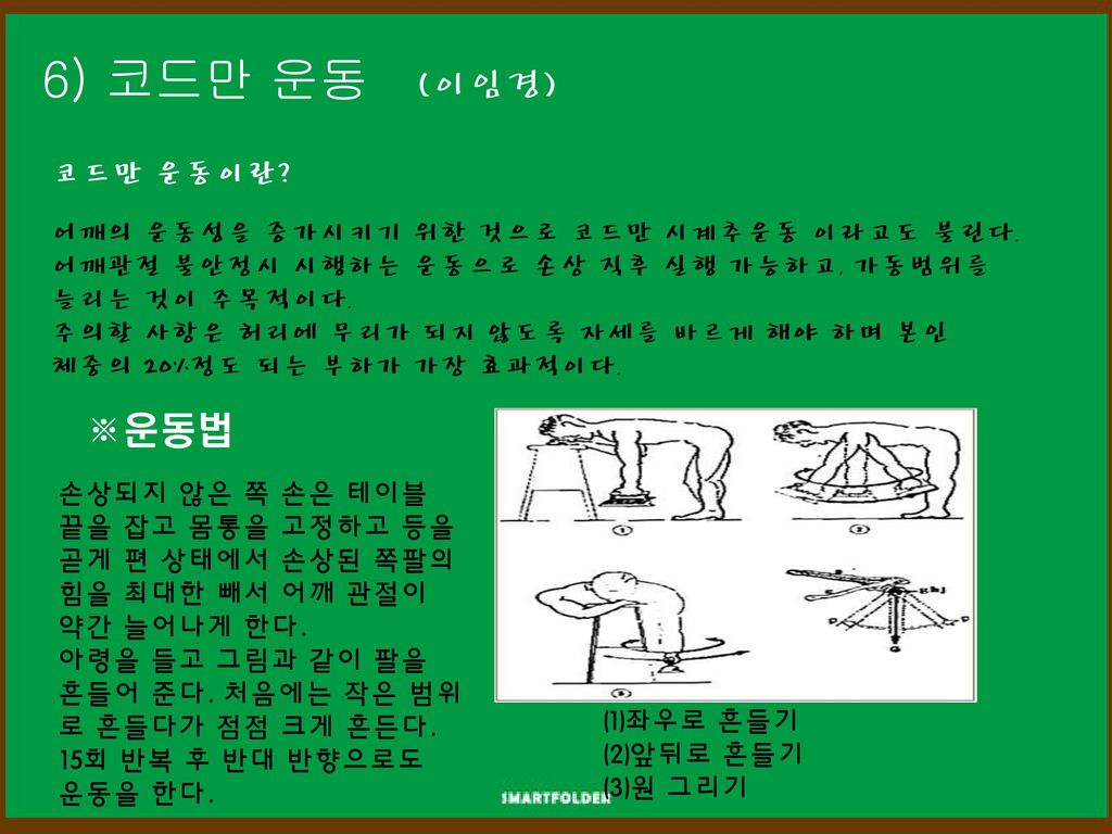 6) 코드만 운동 (이임경) ※운동법 코드만 운동이란