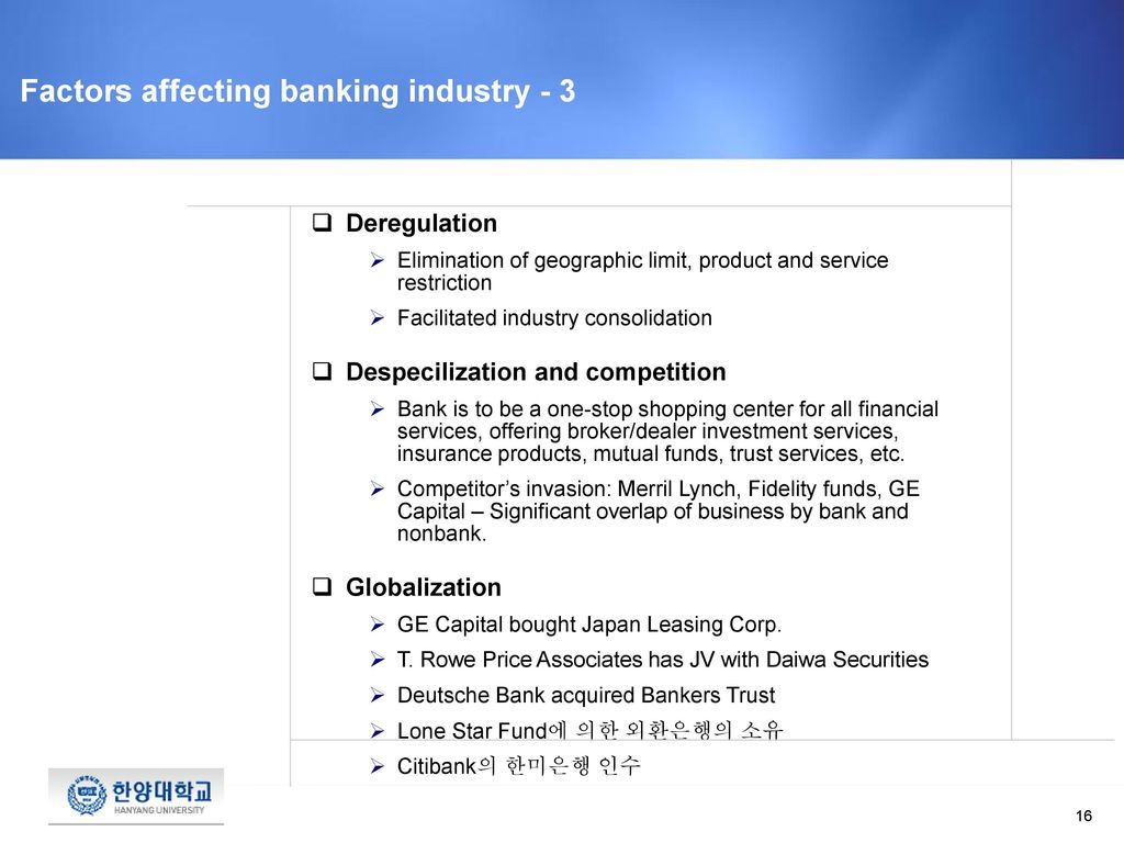 demographic forces affecting banking industry 2 five forces shaping the banking industry | at kearney  at kearney | five forces shaping the banking industry 3 a host of demographic, social and technological factors are changing bank  changing dramatically as different trends affect different market segments with more electronic.