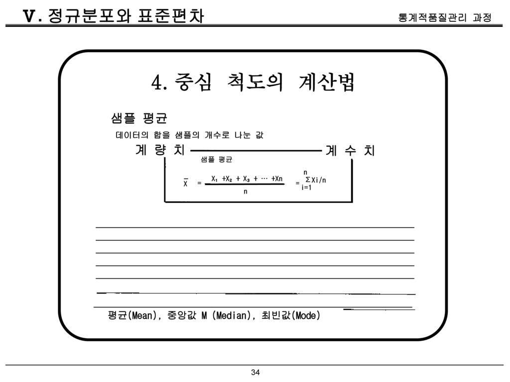 평균(Mean), 중앙값 M (Median), 최빈값(Mode)