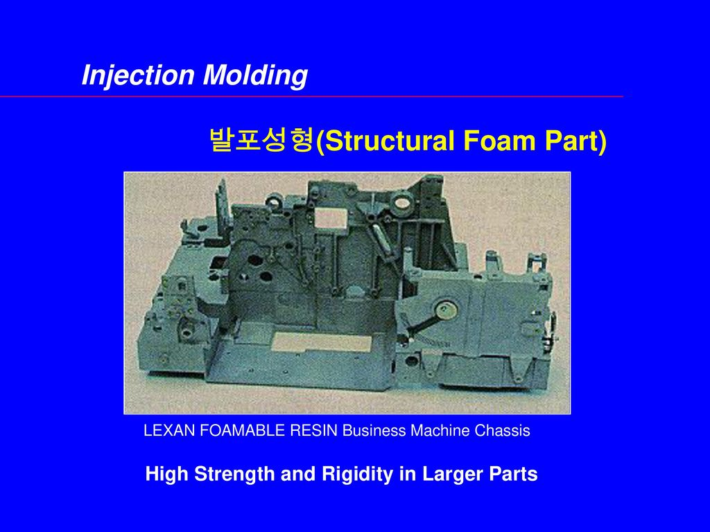 발포성형(Structural Foam Part)