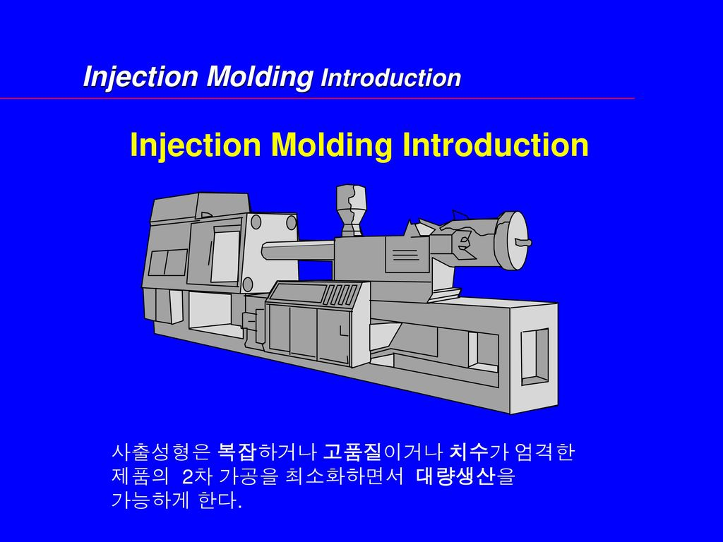 Injection Molding Introduction
