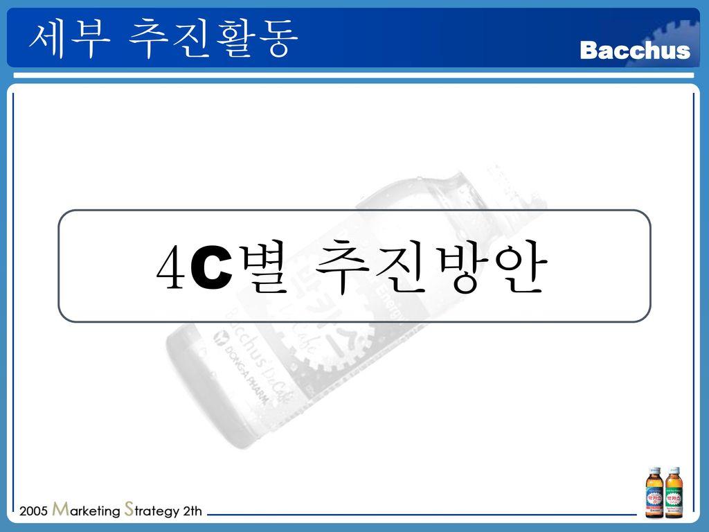 세부 추진활동 4C별 추진방안