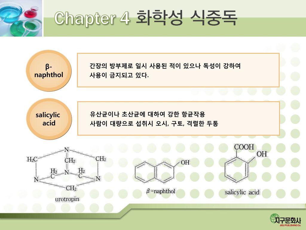 β- naphthol salicylic acid