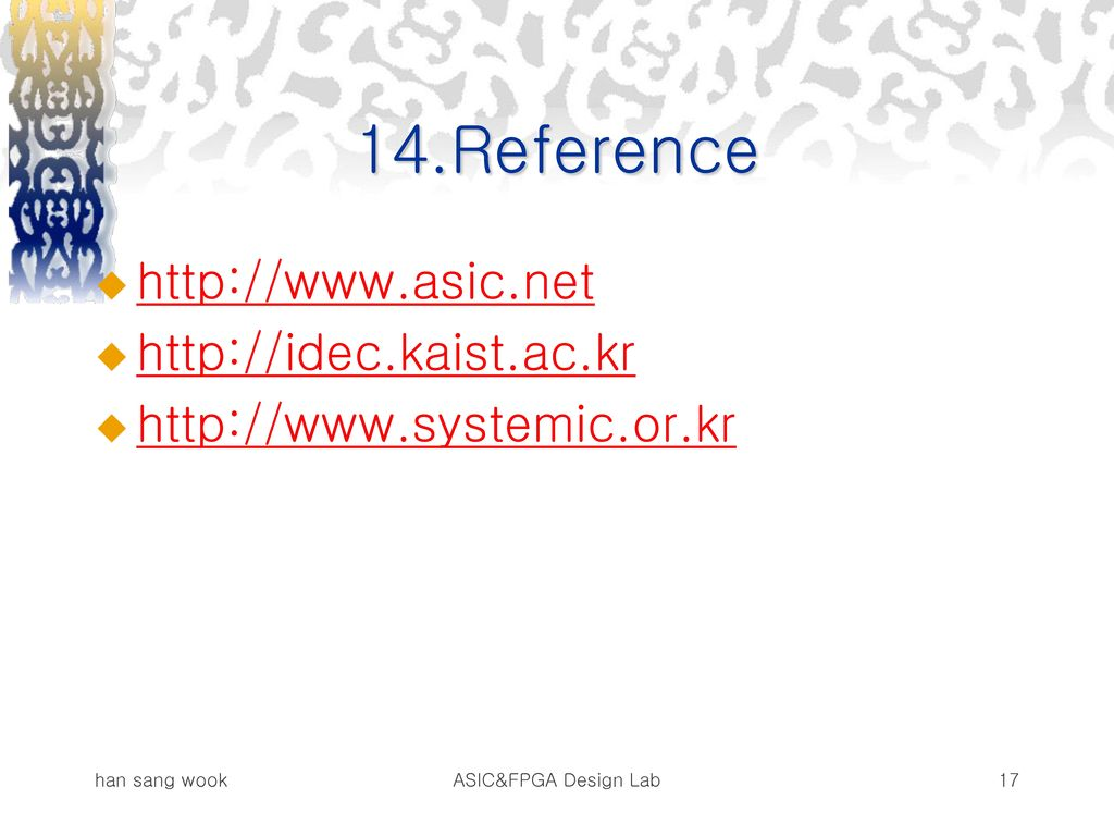 14.Reference