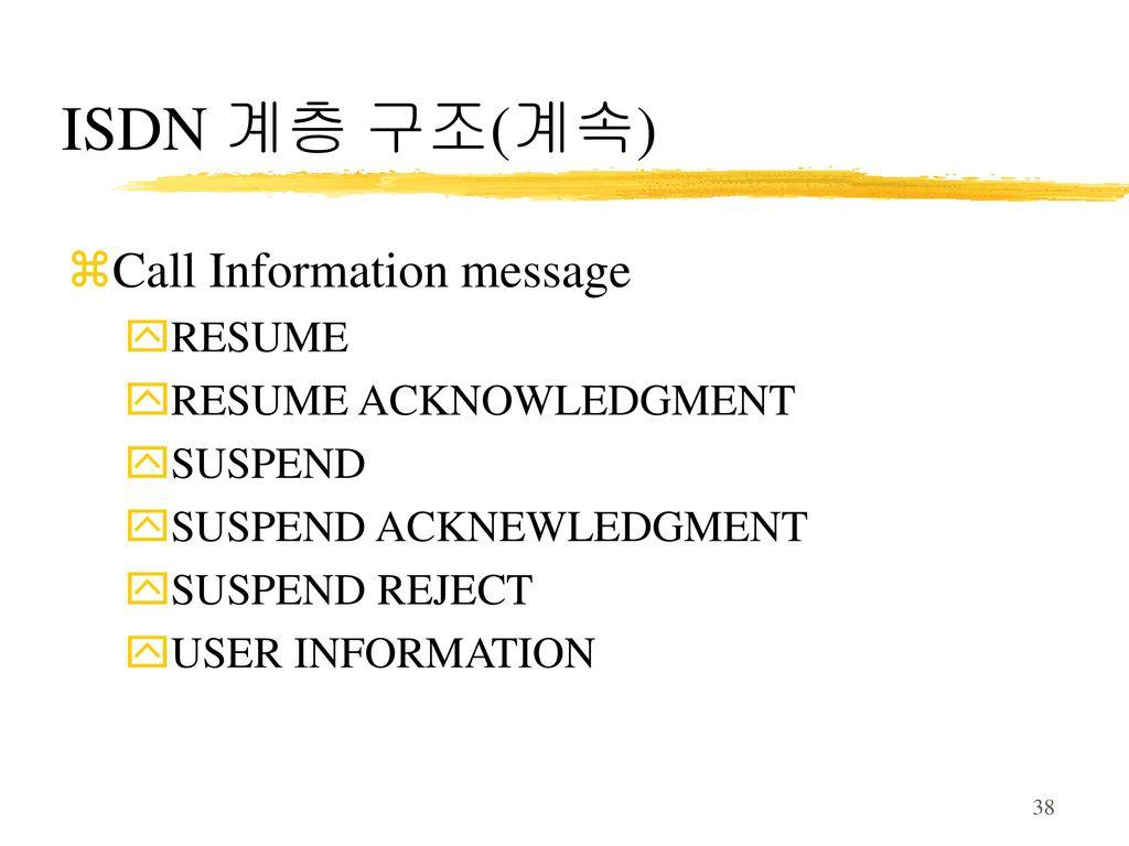 15장 종합정보통신망 isdn 15 1 서비스 15 2 역 사 15 3 가입자 액세스 15 4 계층