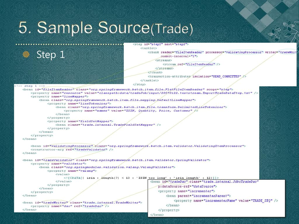 5. Sample Source(Trade) Step 1