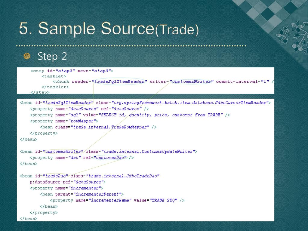 5. Sample Source(Trade) Step 2