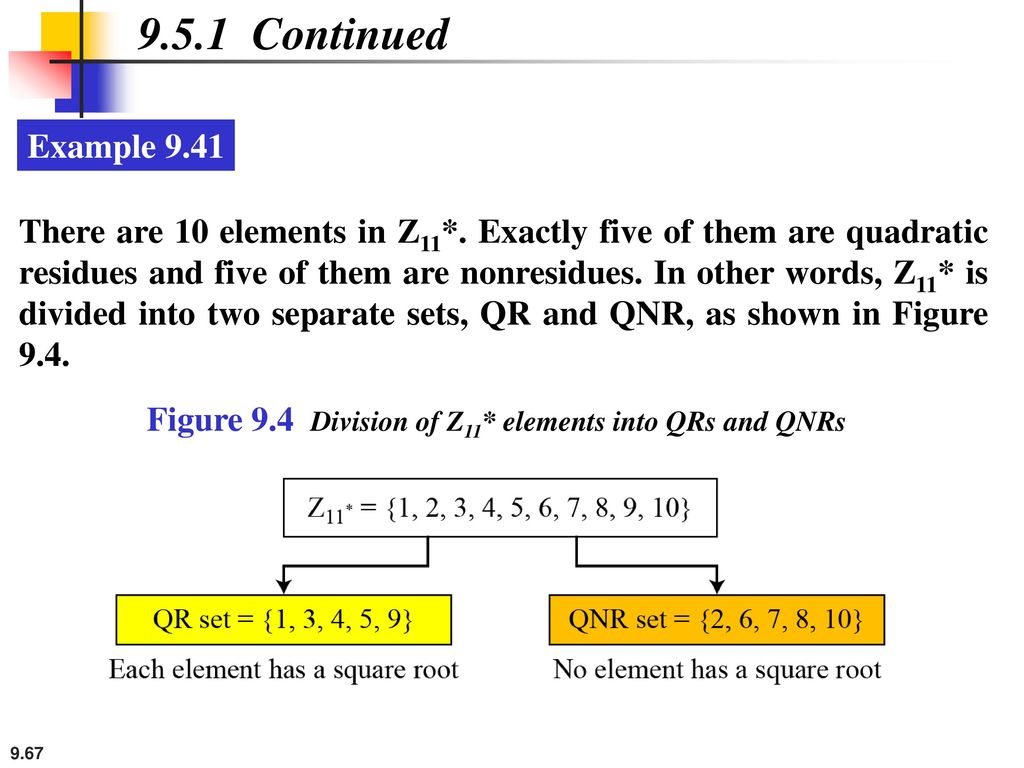 9.5.1 Continued Example 9.41.