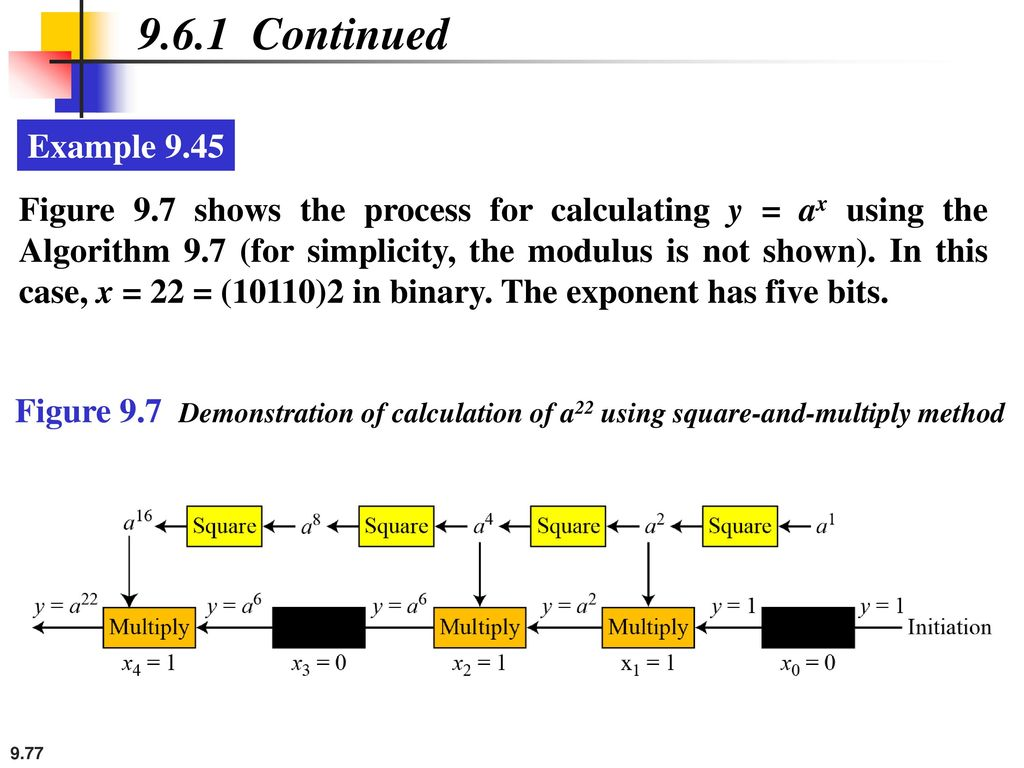 9.6.1 Continued Example 9.45.