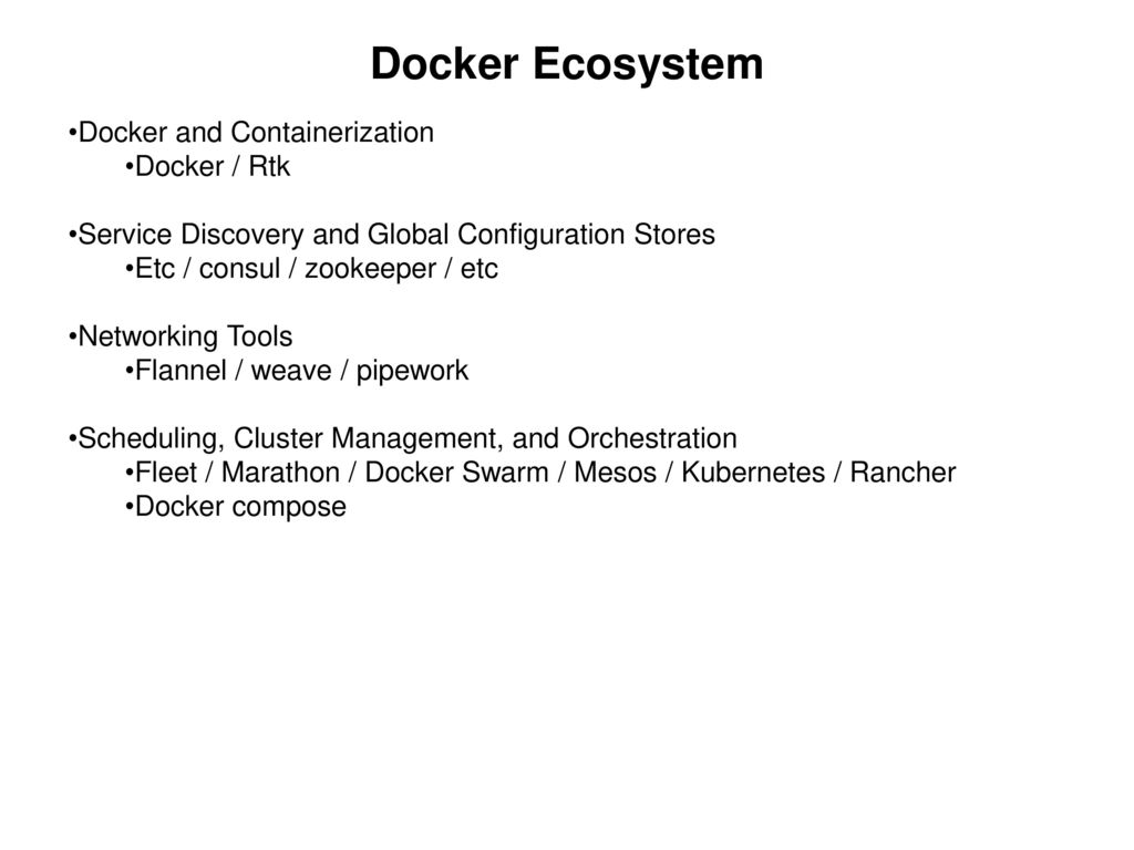 Devops ver ppt download for Docker and consul