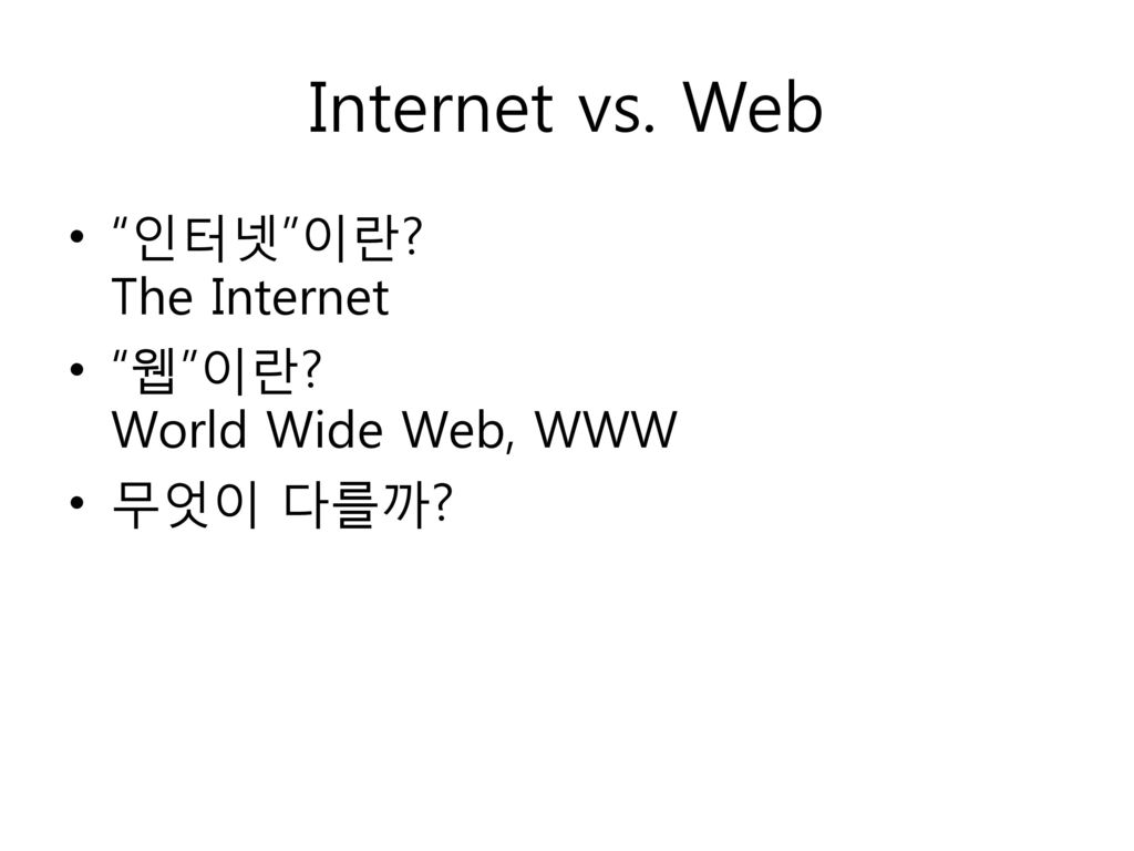 the importance of the internet and the world wide web Impacts of the world wide web media  would say- the internet  themselves the world over can only ignore the importance of the world wide web at their.