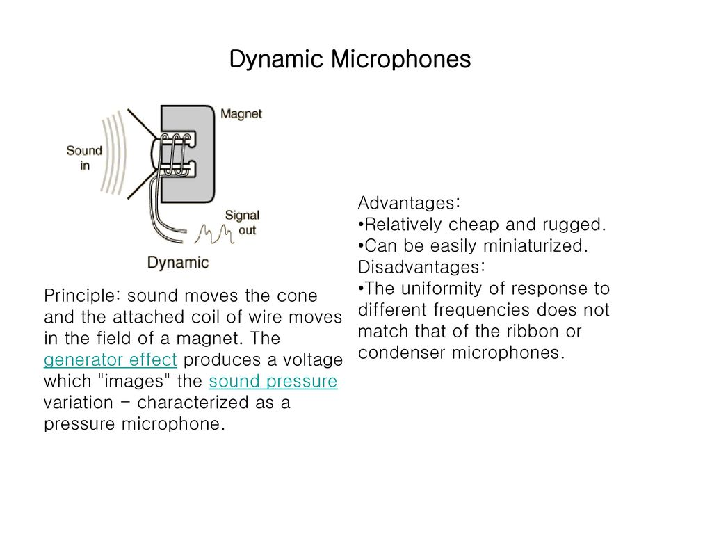Dynamic Microphones Advantages : 8 transducers ppt download ~ Vivirlamusica.com Haus und Dekorationen