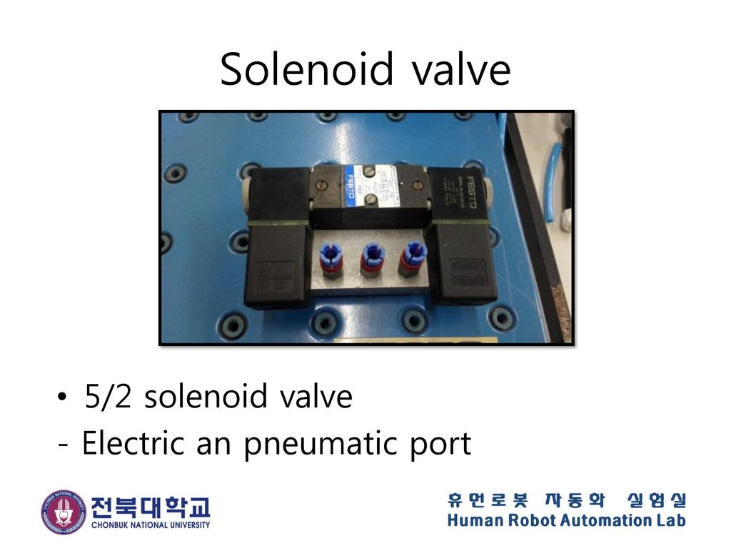 Solenoid valve 5/2 solenoid valve - Electric an pneumatic port
