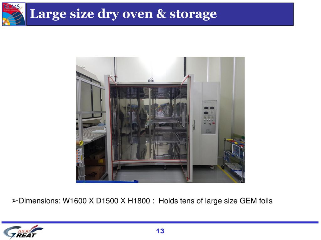 Large size dry oven & storage