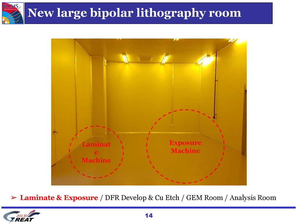 New large bipolar lithography room