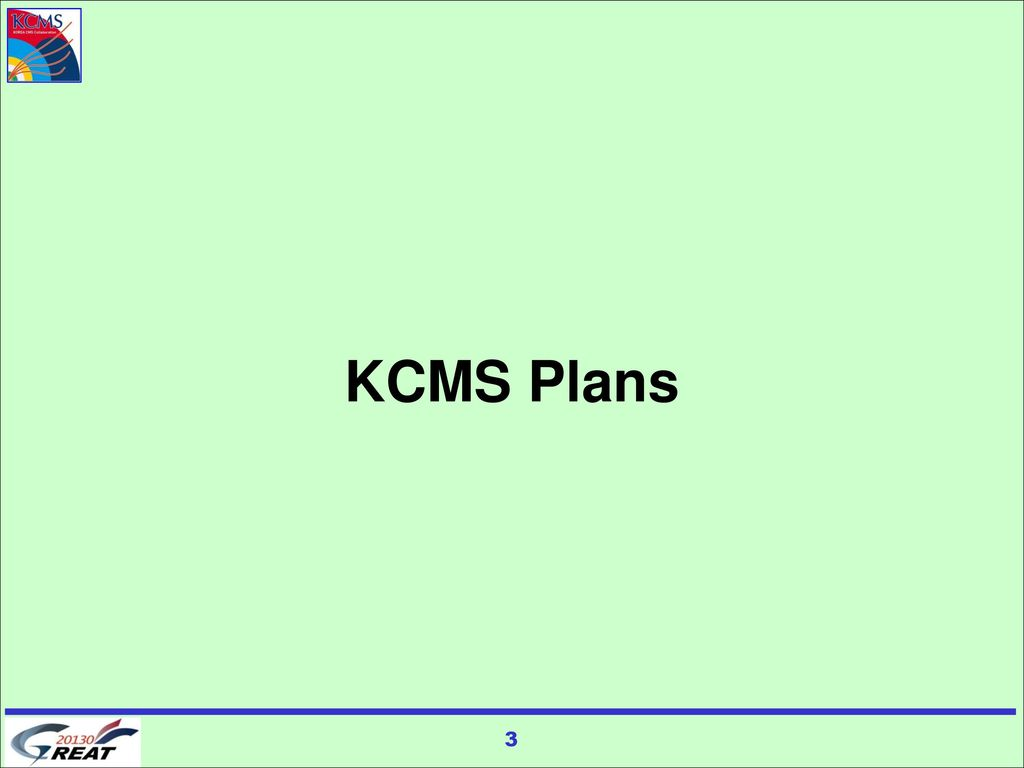 KCMS Plans