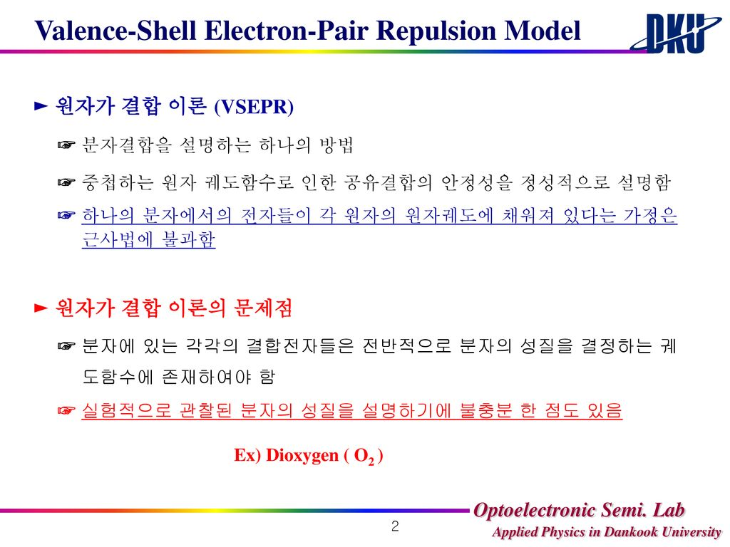 Valence-Shell Electron-Pair Repulsion Model