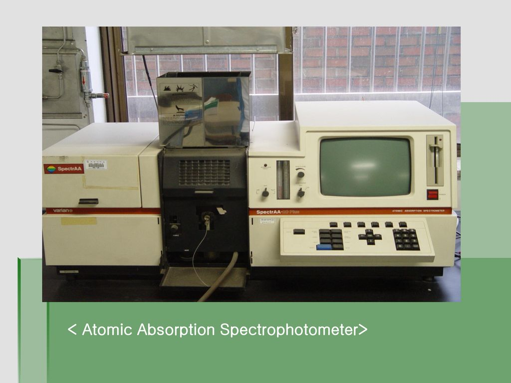 < Atomic Absorption Spectrophotometer>