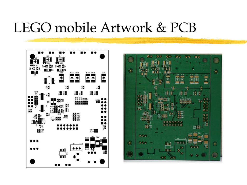 LEGO mobile Artwork & PCB