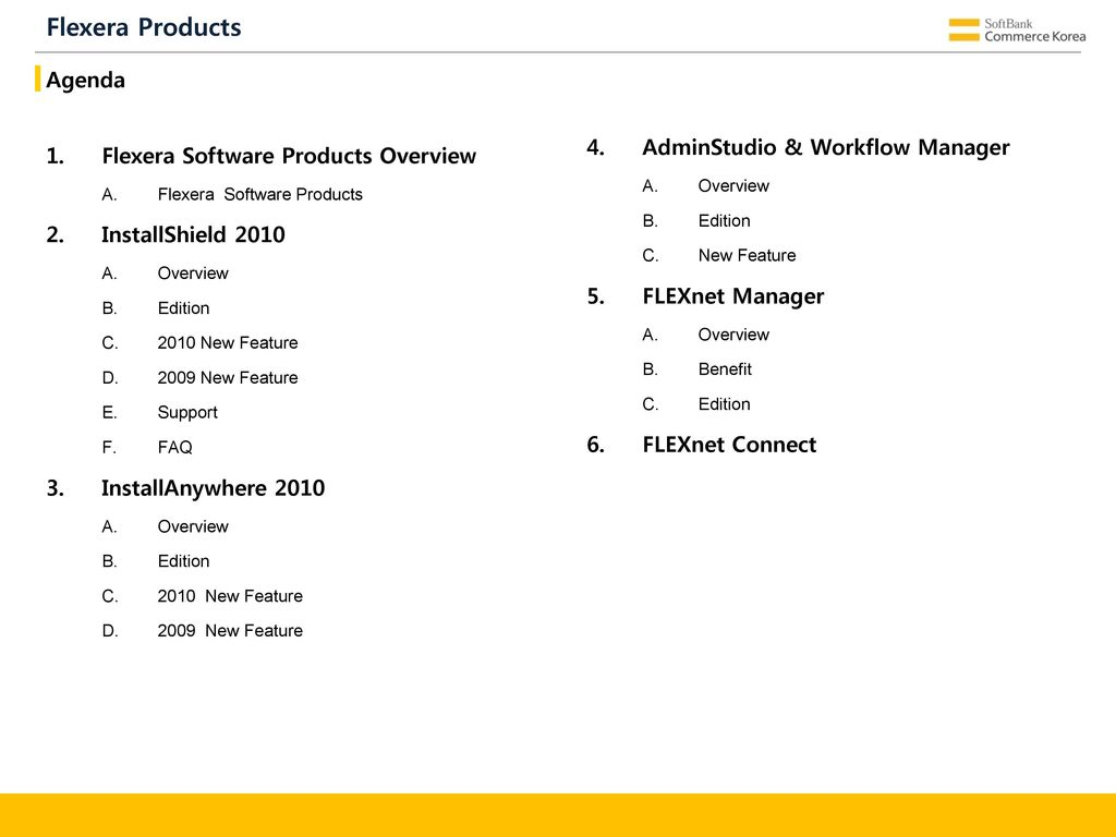 Installation Tools Flexera Products - ppt download