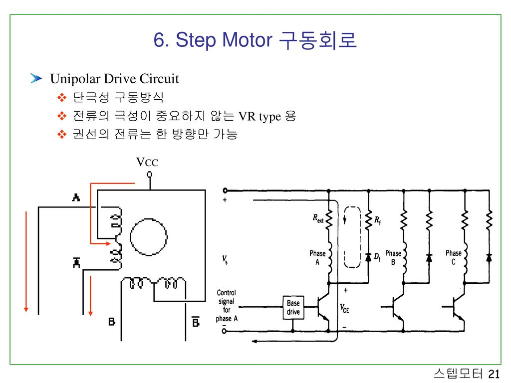 Step Motor 3 Also Stepper Schematic On L297 Driver Unipolar Drive Circuit
