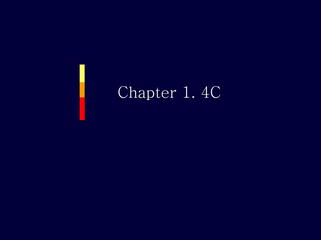 Chapter 1. 4C