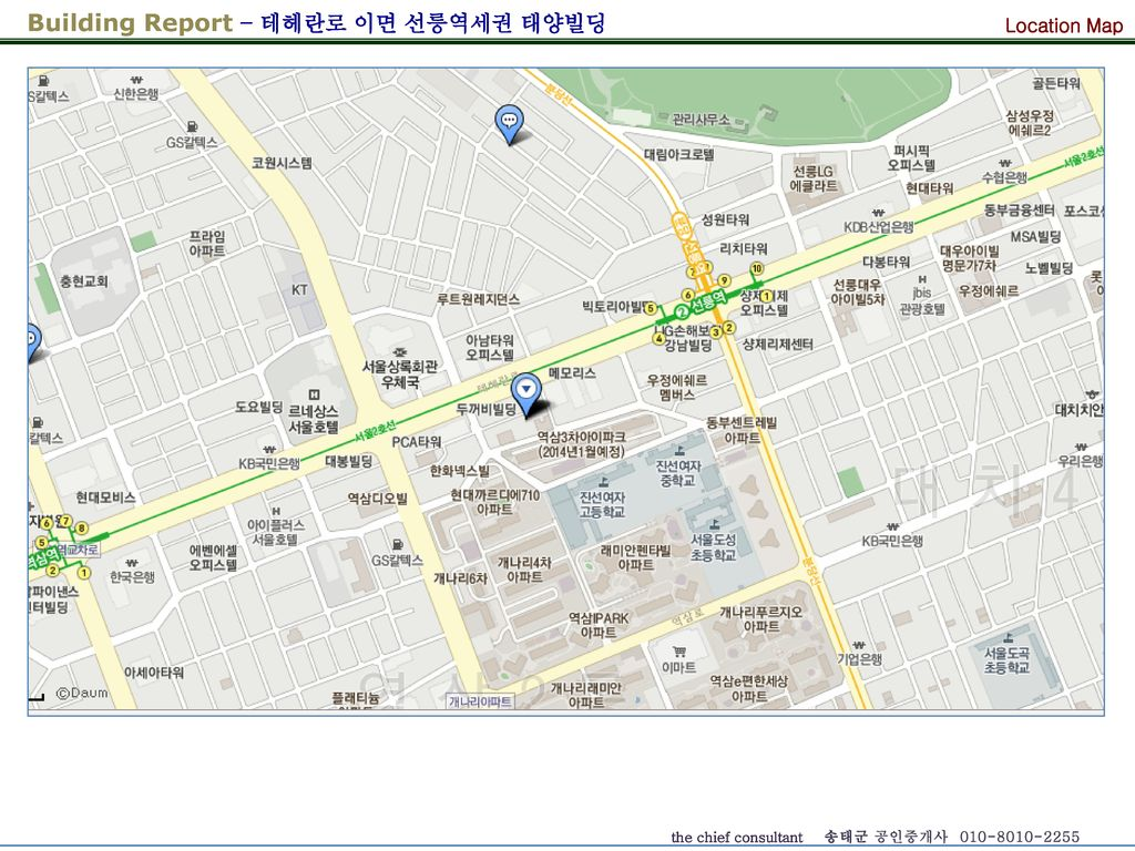 Location Map 본건