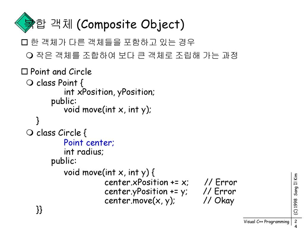 Visual C++ Programming - ppt download