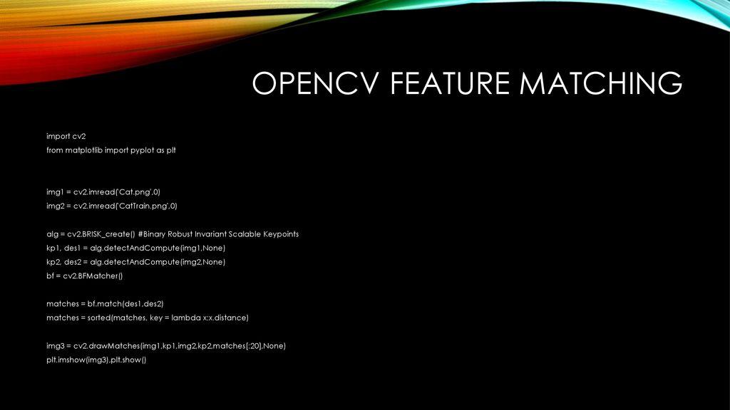 Opencv 이민권  - ppt download