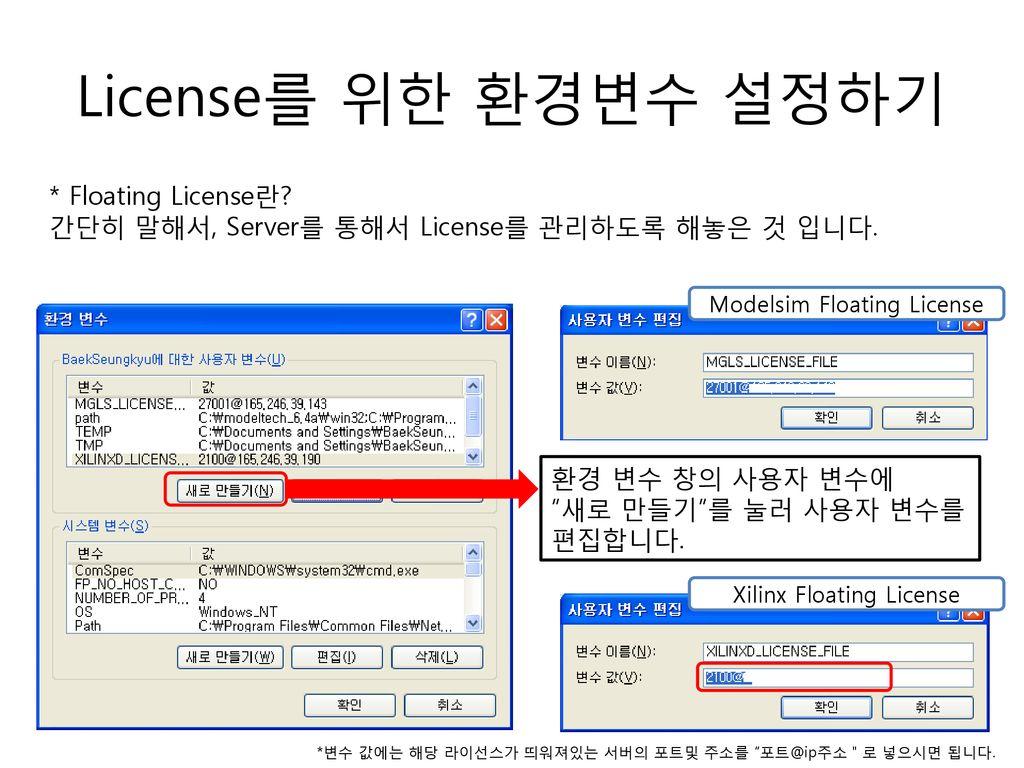Xilinx License